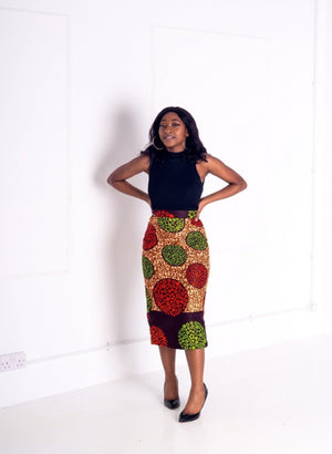 Awah Pencil Skirt - M.A.DKollection