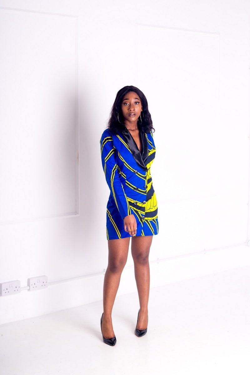 Annah Midi Jacket Dress - M.A.DKollection