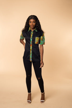 Sonia short sleeve shirts - M.A.DKollection