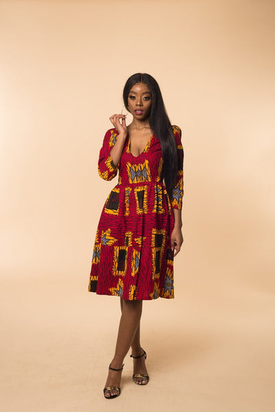 Oyin Midi Dress - M.A.DKollection