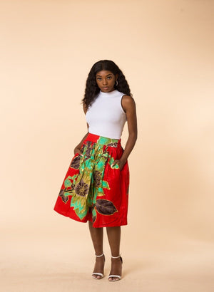 Diane Midi Skirt - M.A.DKollection