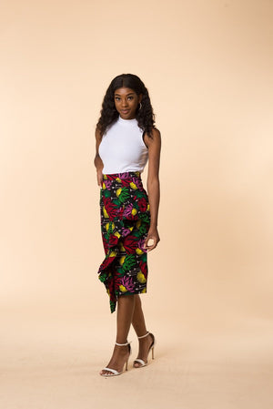 Jade Pencil Skirt - M.A.DKollection