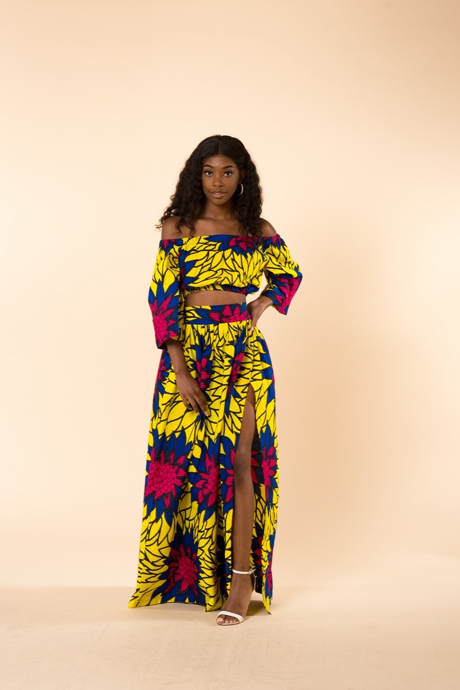 Sophia Off-the-shoulder Matching set - M.A.DKollection