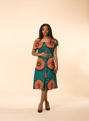 Grace Midi Dress - M.A.DKollection