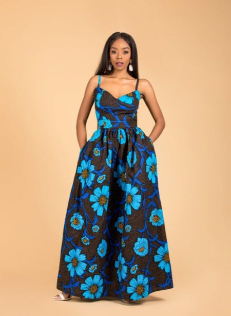 Aba Maxi Off shoulder Dress