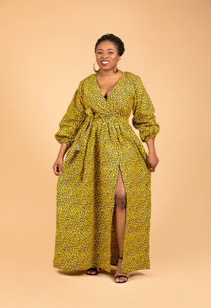 Uyo Maxi Dress - M.A.DKollection
