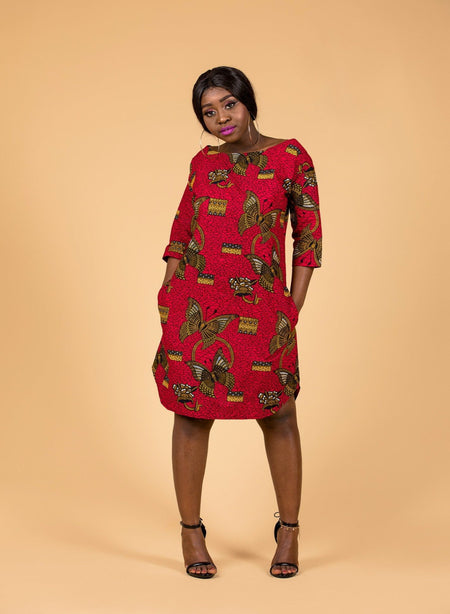 Daluchi Wrap Midi Dress