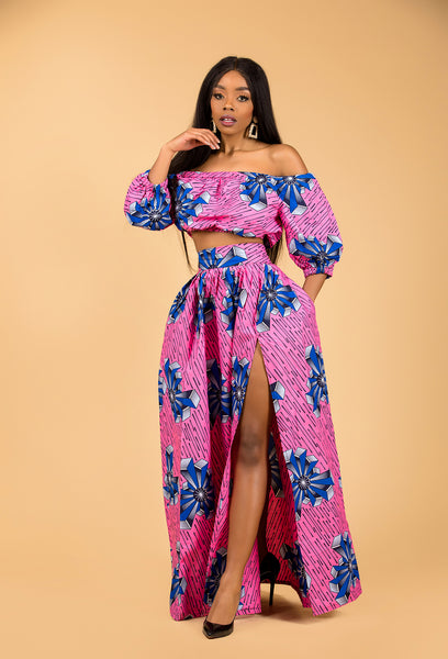 Bola off the shoulder matching Set - M.A.DKollection