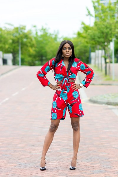 Fidi Ankara Short Matching Set - M.A.DKollection
