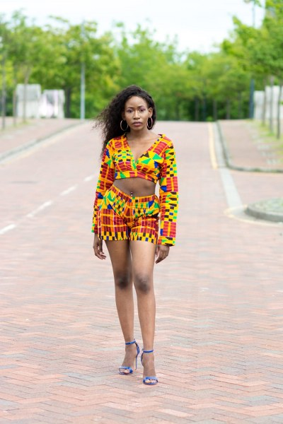 Fidi Ankara Short Matching Set