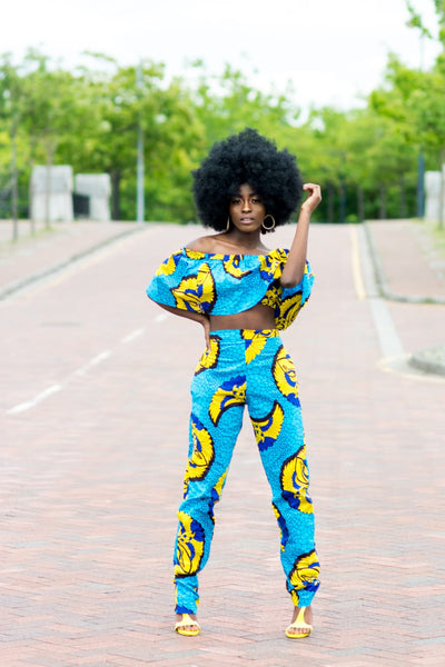 Fini  Ankara Trouser Matching Set - M.A.DKollection