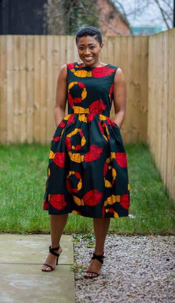 Dammy Midi Dress