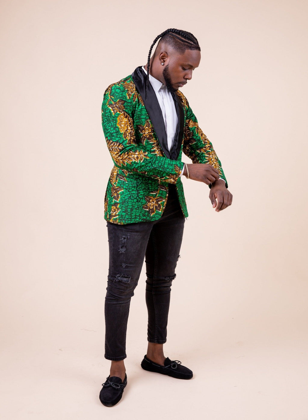 Charles Ankara Men Blazer - M.A.DKollection
