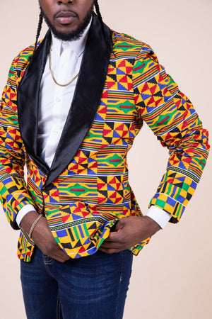Kojo Ankara Men Blazer - M.A.DKollection