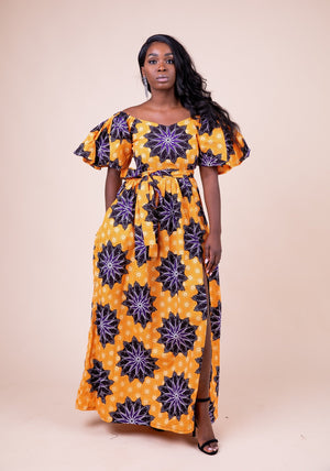 Dolly Maxi Off Shoulder Dress - M.A.DKollection