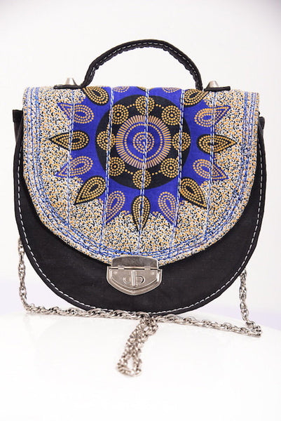 Blue Ankara Bag