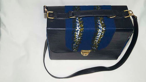 Ankara Structured bag