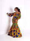 Helen Kente Maxi Dress - M.A.DKollection