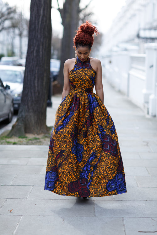 Amber Maxi Dress - M.A.DKollection