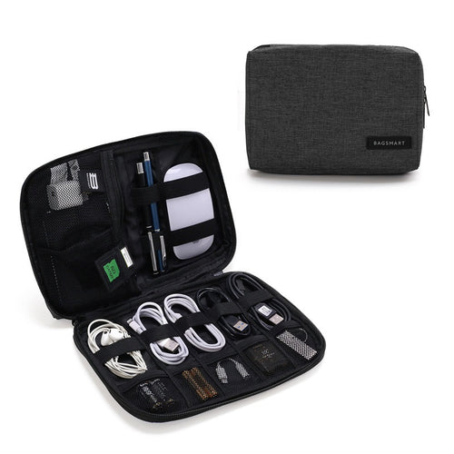 Electronic Accessories Packing Organizers for Earphones, USB, SD Card, Charger, Data Cable, and more