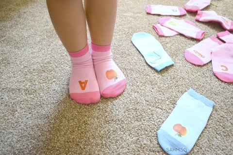 kids in socks abc