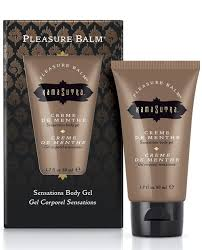Pleasure Balm Creme de Menthe 50 ML KAMASUTRA Gel Corporal Besable tulipanes.club sexshop