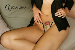 TANGA BORDADO ROSA KALI CLOSED Lola Luna Tanga tulipanes.club sexshop