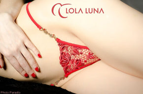 ROXANNE CLOSED Lola Luna Tanga G-String tulipanes.club sexshop