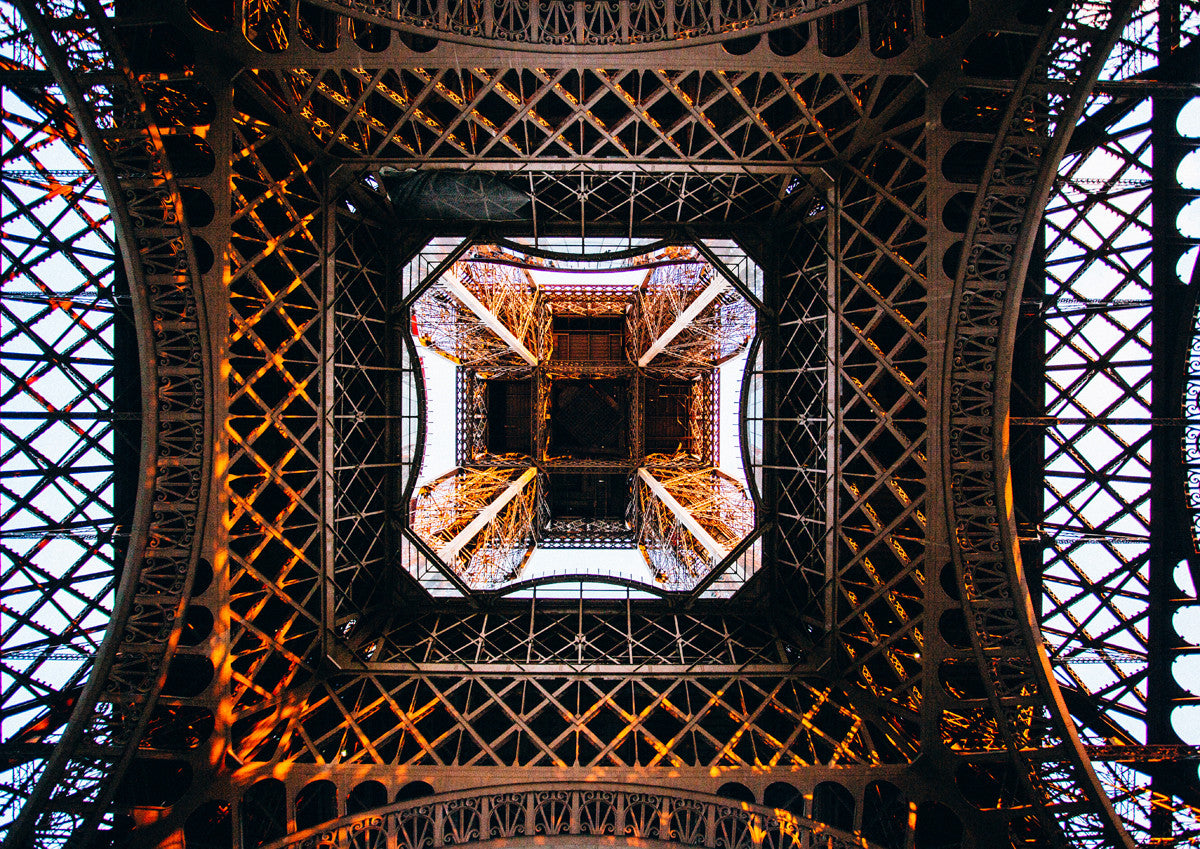 Inside Eiffel Tower