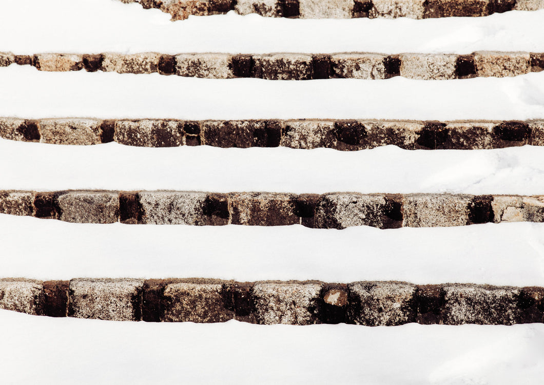 Steps in Snow 2