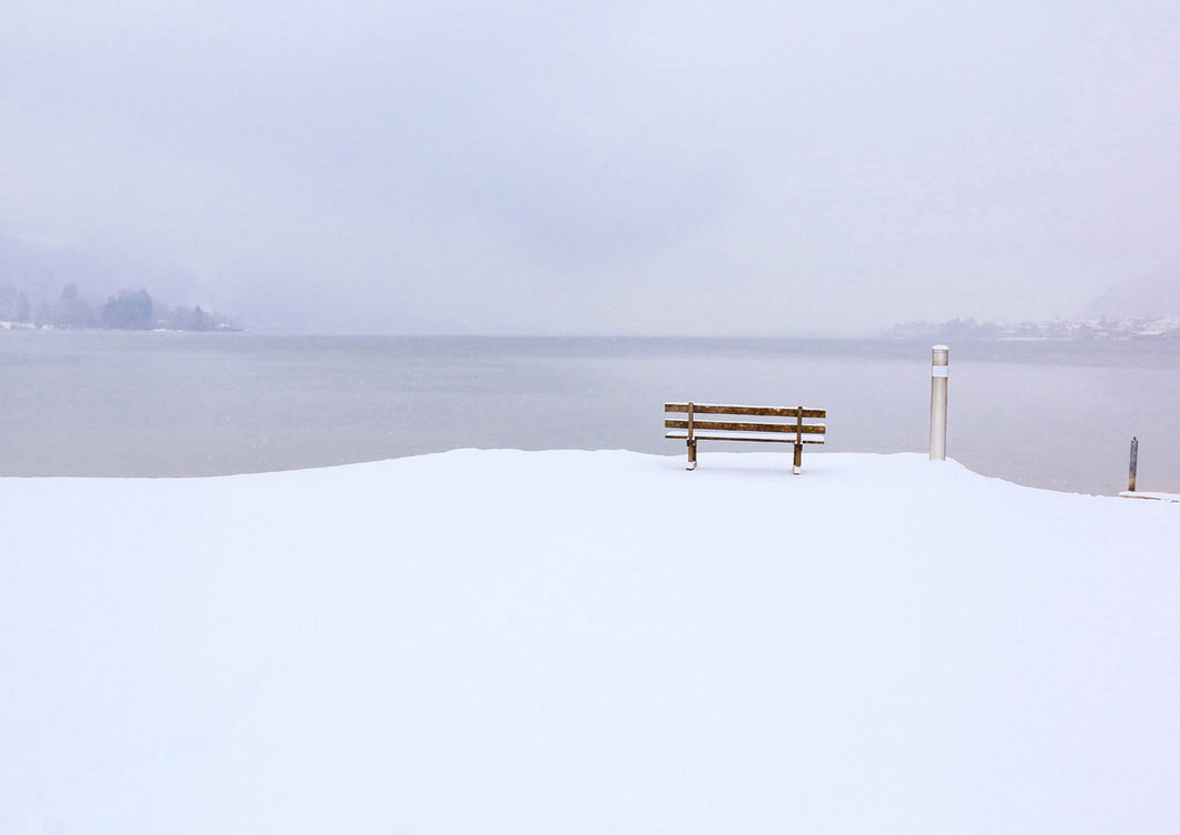 Bench in Snow II