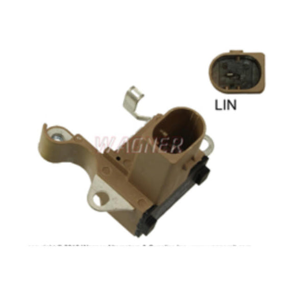 Voltage Regulator, 12 Volt, 1 Pin LIN Terminal for Denso Replacing 126600-3570