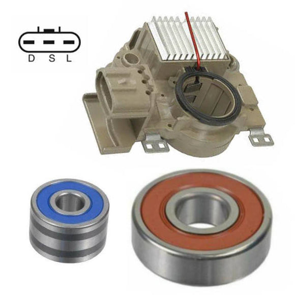 Alternator Rebuild Kit for 1999-2002 Forester 1999-2001 Impreza; Regulator Brushes Bearings