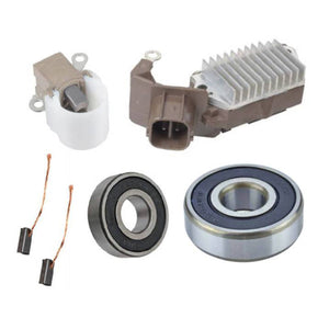 Alternator Rebuild Kit; Voltage Regulator with Brushes & Bearings for 2005-2006 Toyota Tacoma 2.7L