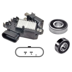 Alternator Rebuild Kit 2004-2009 Chevrolet Malibu 3.5L with Valeo 115 Amp Alternator