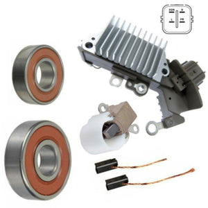 Alternator Rebuild Kit; Voltage Regulator with Brushes & Bearings Alternator 2006-2009 Toyota Yaris