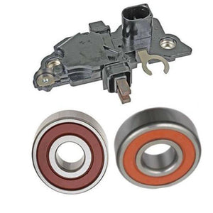 Alternator Rebuild Kit 2004-2005 Volkswagen Passat 2.0L Diesel with 90 or 120 amp Bosch Alternator, Regulator, Brushes, Bearings -