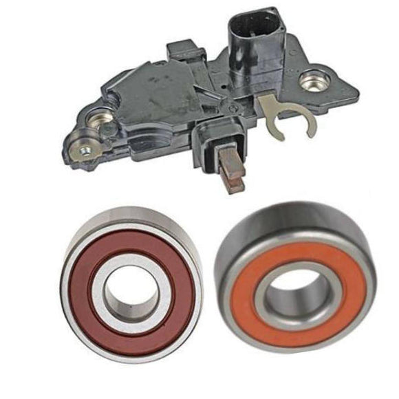 Alternator Rebuild Kit 1999-2001 Audi A4/Passat 1.8L with Bosch 120 Amp Bosch Alternator, Regulator, Brushes, Bearings