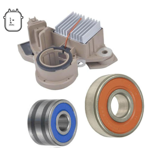 Alternator Rebuilt Kit; Regulator Brushes Bearings for 2013-2017 Accord (A5TL0581ZC, A5TL0591ZC)