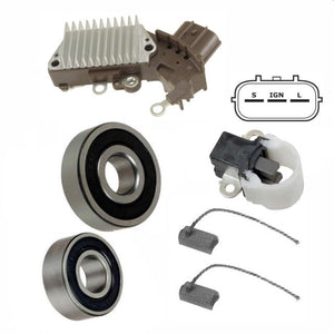 Alternator Kit; Voltage Regulator Brushes Bearings 93-98 Supra Turbo