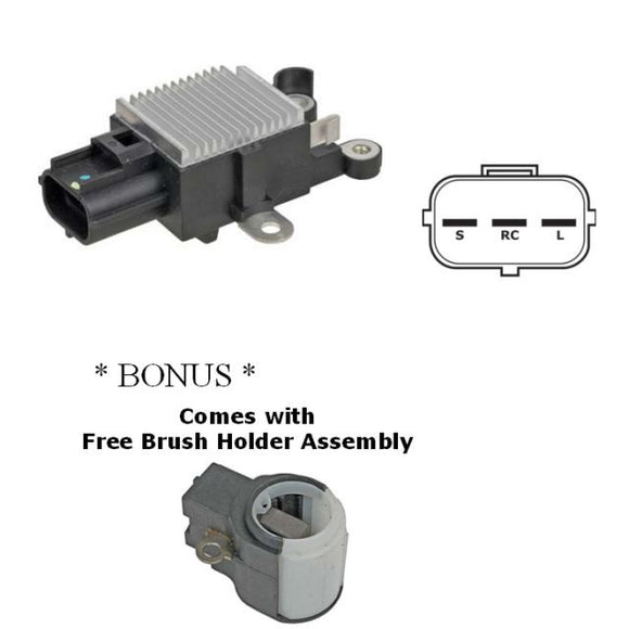 Voltage Regulator for 2005-2008 Land Rover LR3 & Ford Replacing Denso 126600-3460, 126600-7140