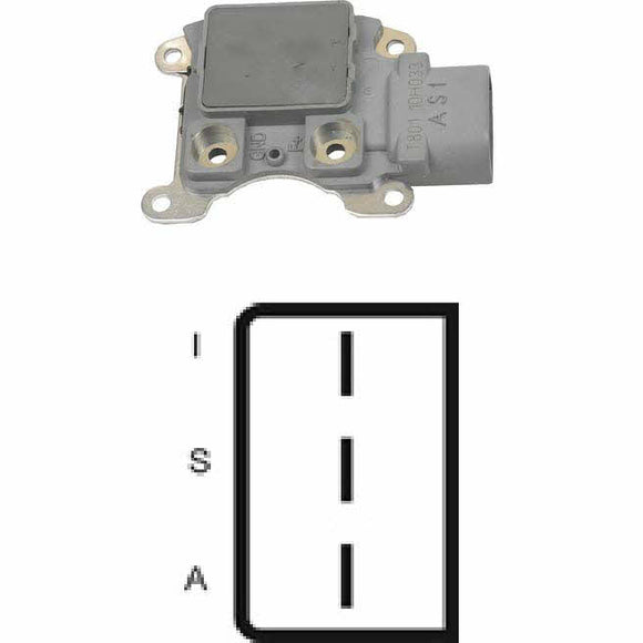 Voltage Regulator for Ford 3G Heavy Duty Tidatel Terminal ID: Light-Stator-Ignition