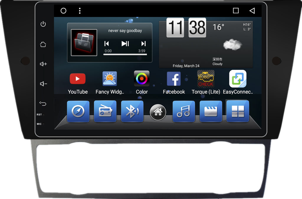 AZOM MX5 Multimedia Bilstereo | <strong>BMW E90 E91 M3 3Series</strong> | 9"