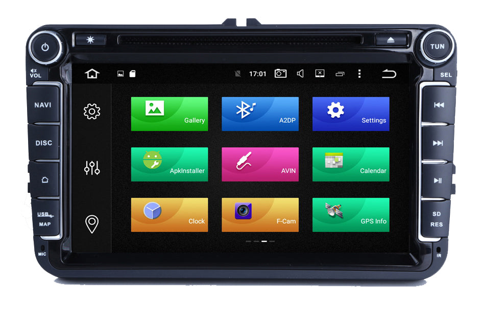 AZOM MX4 Multimedia Bilstereo | <strong>VW SKODA SEAT</strong> | 8"