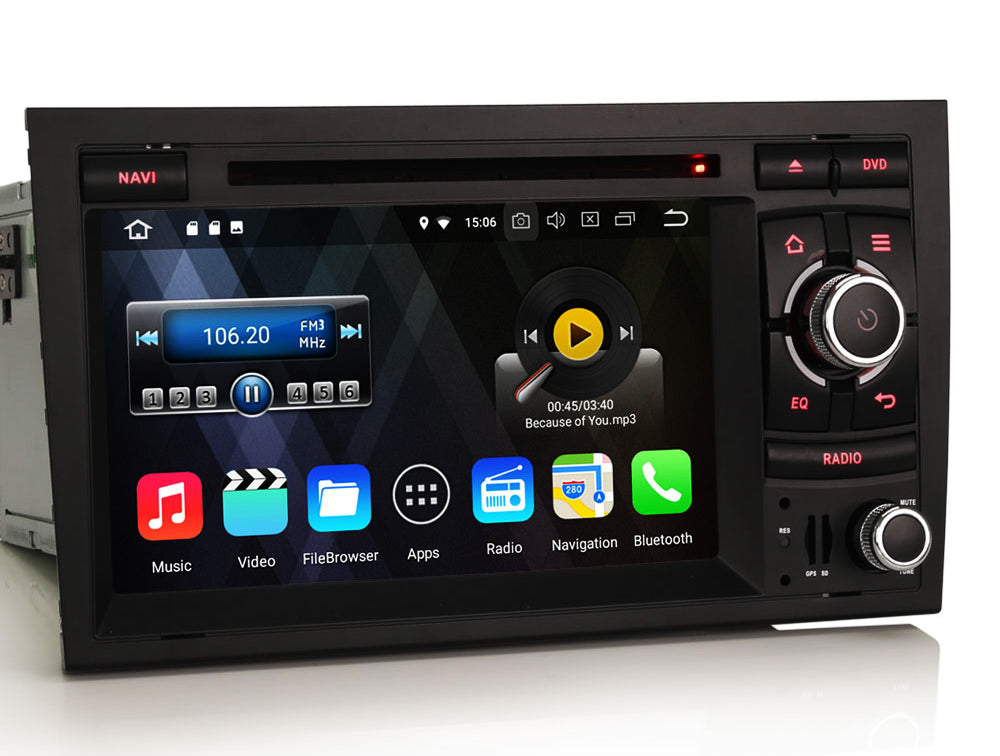 AZOM RFX Multimedia Bilstereo | <strong>AUDI A4 S4 RS4</strong> | 7"