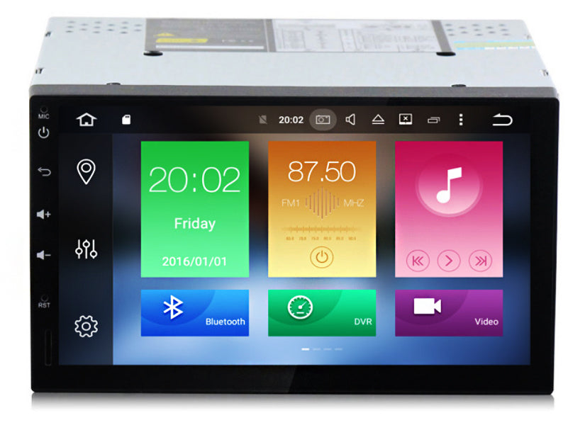 AZOM DNA Multimedia Bilstereo | <strong>UNIVERSAL</strong> | 7"