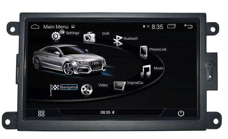 AZOM RFX Multimedia Bilstereo | <strong>AUDI A4 S4 A5 S5 (2008-2016) Q5 (2010-2016)</strong> | 7"