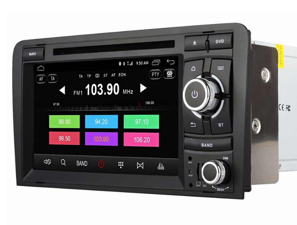 AZOM RFX Multimedia Bilstereo | <strong>AUDI A3 S3 2002-2011</strong> | 7"