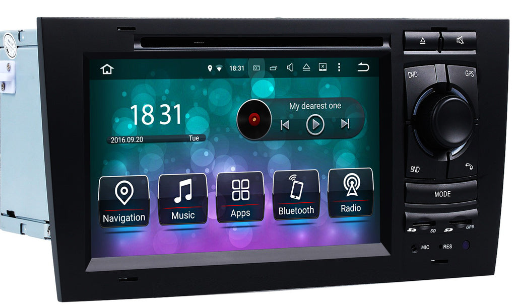 AZOM RFX Multimedia Bilstereo | <strong>AUDI A6 S6 1997 - 2005</strong> | Android 10.0 |  8CORE | DAB+ | GPS | 2DIN
