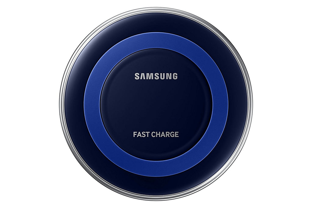 Samsung Qi Certified Fast Charge Wireless Charger Pad (Special Edition) - US Version - Black/Blue - Arvonic